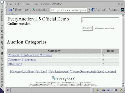 EveryAuction Screenshot